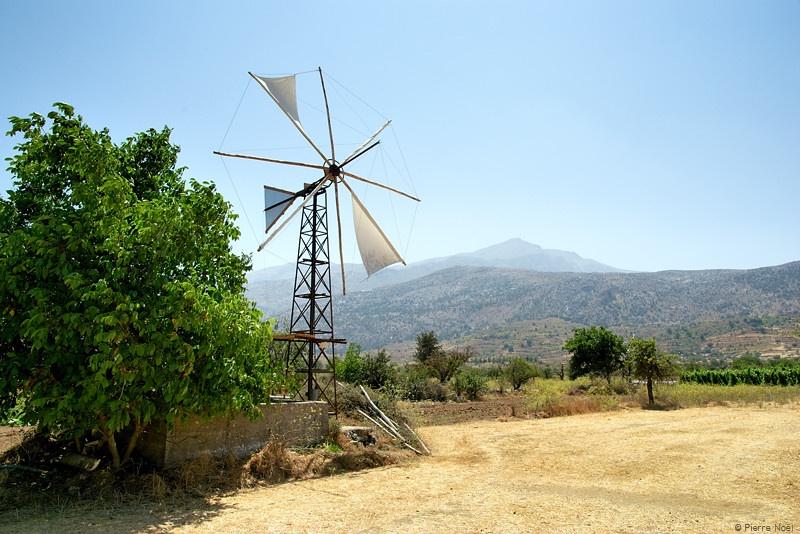 Crète - Plateau de Lassithi