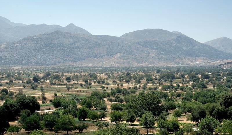 Crète : Plateau de Lassithi