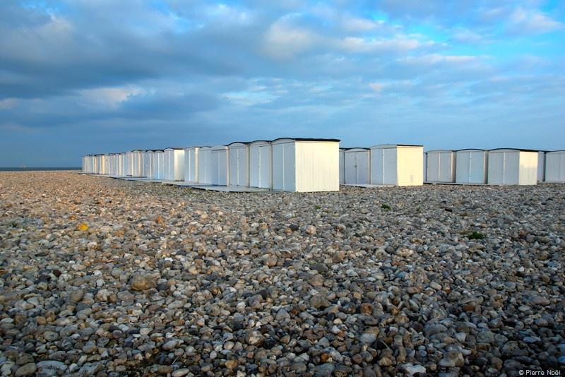 Le Havre - Plage et cabanes
