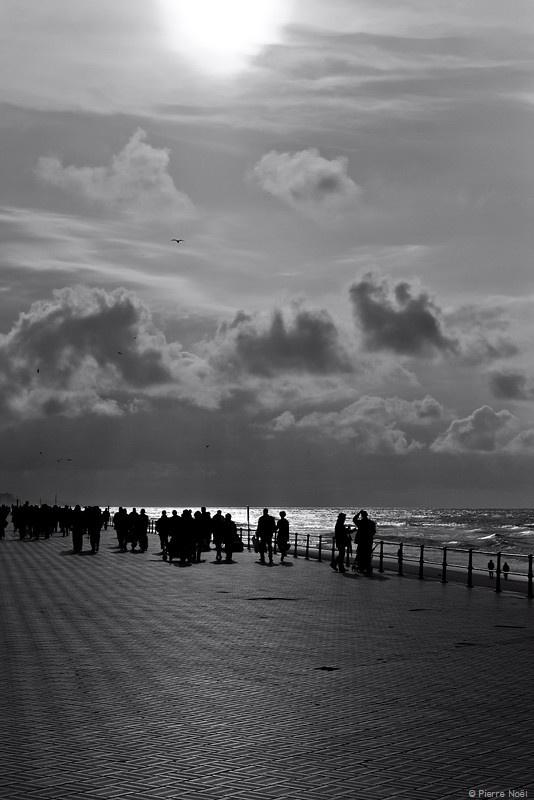 Ostende - Sur la digue