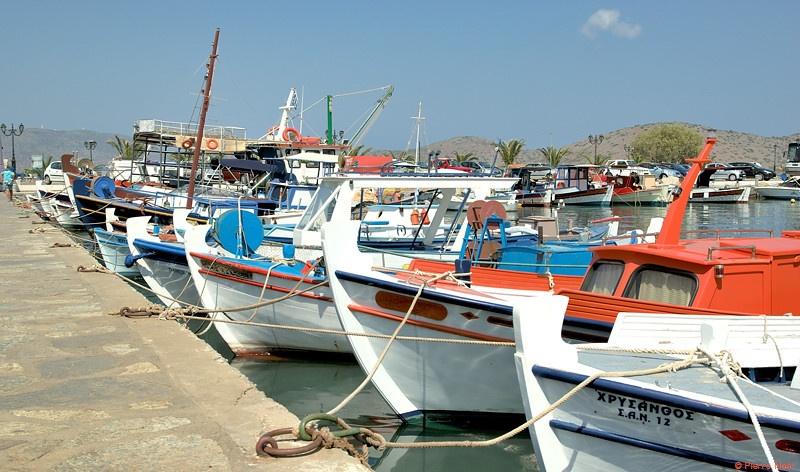 Crète - Port de Elounda