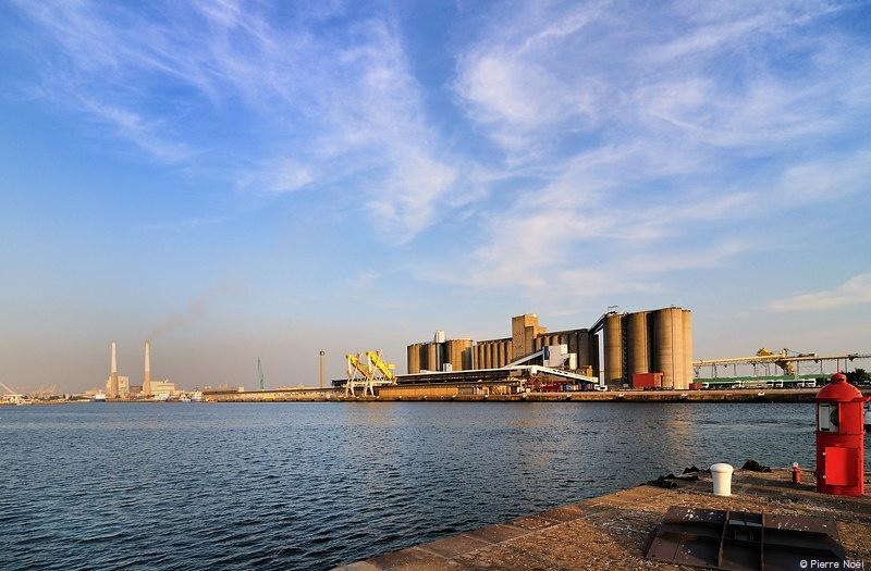 Le Havre - Quais céréalier