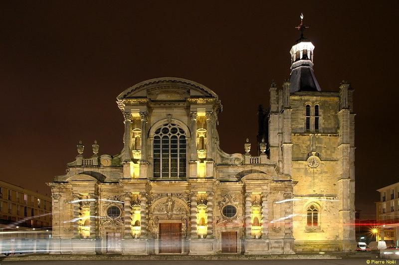 Cathédrale Notre-Dame du Havre - Côté face