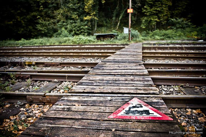 Rodange - Le Parc Industriel et Ferroviaire du Fond-de-Gras