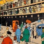 Saint-Nazaire et Tintin