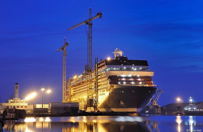 Saint-Nazaire - Les chantiers de l'Atlantique