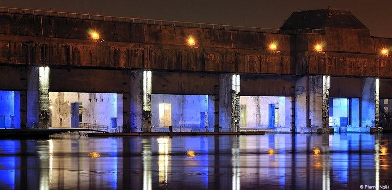 Saint-Nazaire - Base sous-marine allemande