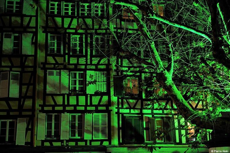 Alsace - Strasbourg en vert