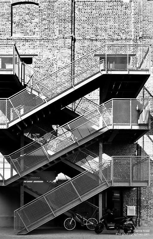 Le Havre - Escaliers des docks