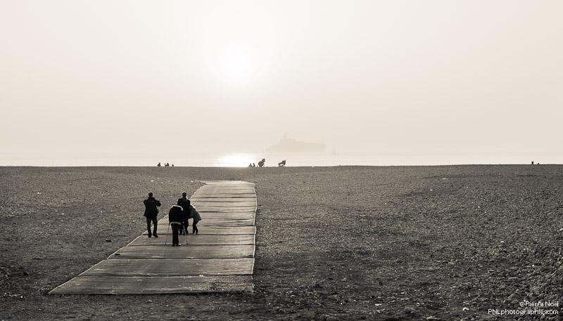 Le Havre - Balade sur la plage