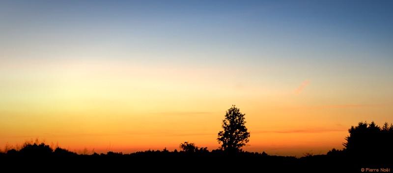 Virton - Ciel en automne