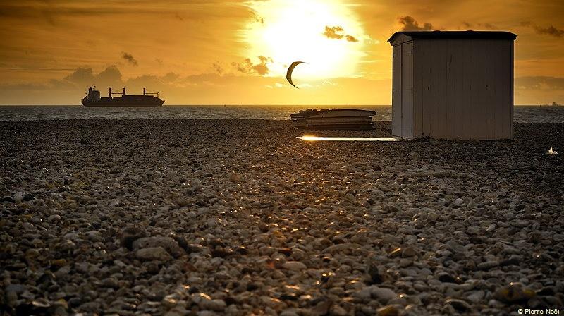 Le Havre - Plage d'automne