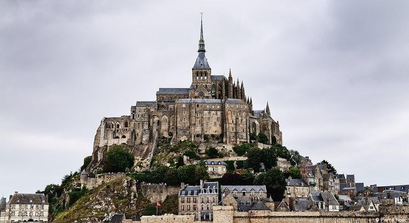 Normandie - Le Mont Saint-Michel (portrait)