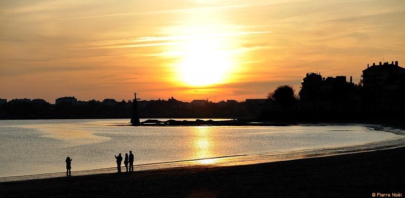 La plage de Saint-Nazaire
