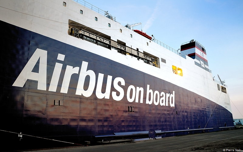 Saint-Nazaire - Airbus on board