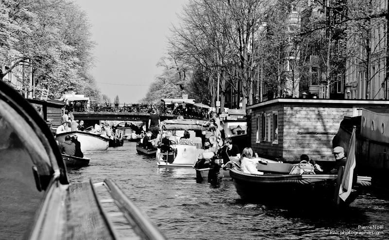 Amsterdam - Embouteillage