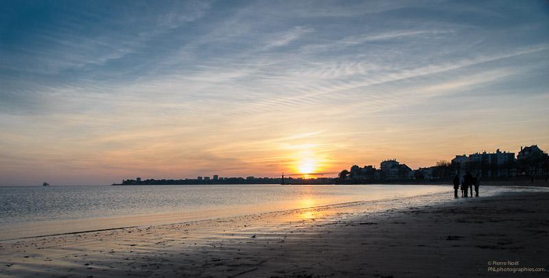 Saint-Nazaire - Sur la plage