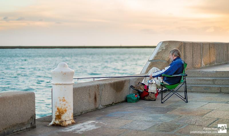 Le Havre - Le Pêcheur à la ligne