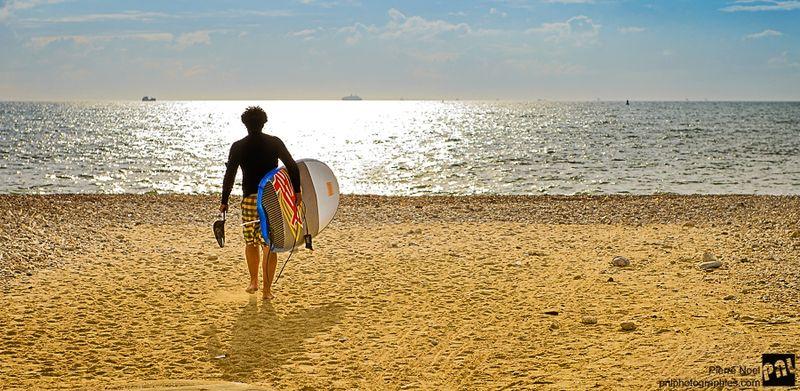 Le Havre – Séance de surf