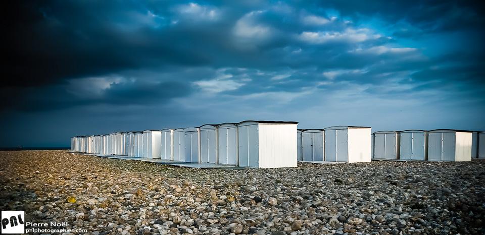 Le Havre - Cabanes et galets
