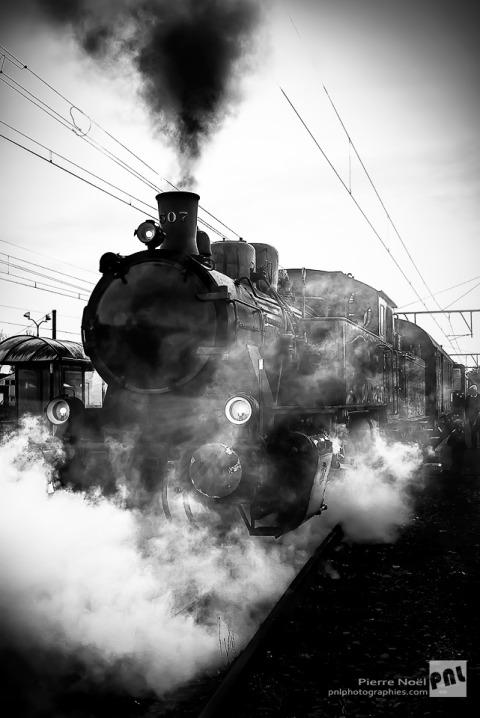 Marbehan - Locomotive à vapeur